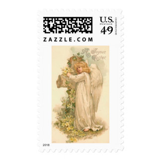 A Joyous Easter Angel Stamp