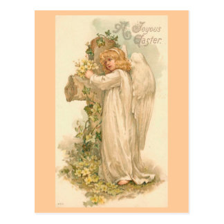 A Joyous Easter Angel Post Card