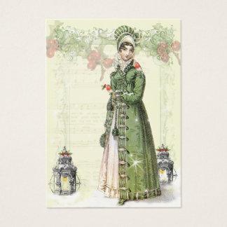 A Joyous Noel Jane Austen Inspired Gift tag b