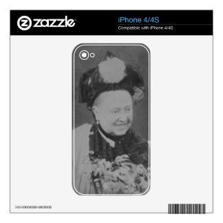 A Jubilee Portrait of Queen Victoria (1819-1901) L iPhone 4S Decals