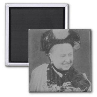 A Jubilee Portrait of Queen Victoria (1819-1901) L 2 Inch Square Magnet