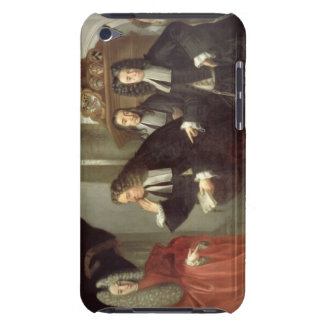 A Judge and Three Advocates, Venetian School (oil iPod Touch Cover