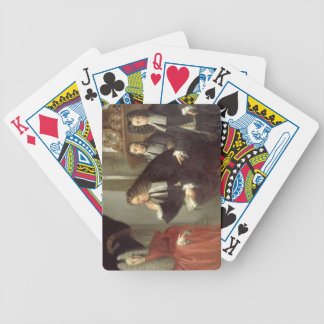 A Judge and Three Advocates, Venetian School (oil Bicycle Playing Cards