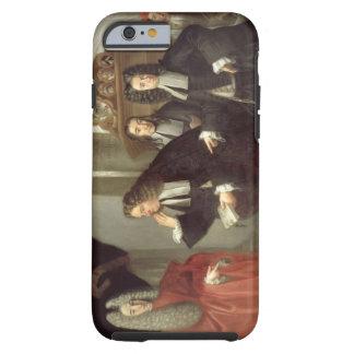 A Judge and Three Advocates, Venetian School (oil Tough iPhone 6 Case