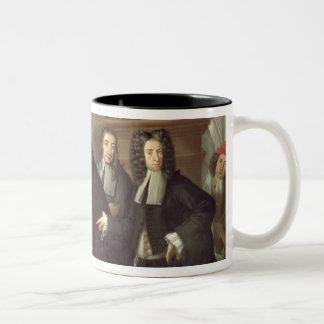 A Judge and Three Advocates, Venetian School (oil Two-Tone Coffee Mug