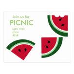 A Juicy Summer Picnic Postcard