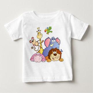A Jungle Animals Baby T-Shirt