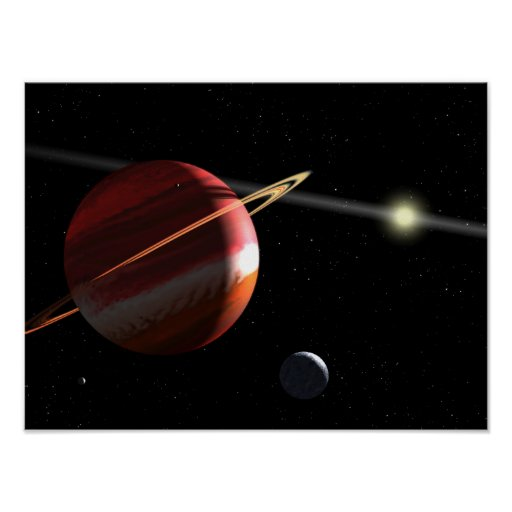 A Jupiter-mass planet orbiting the nearby star Posters