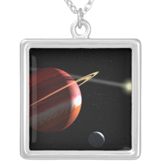 A Jupiter-mass planet orbiting the nearby star Silver Plated Necklace