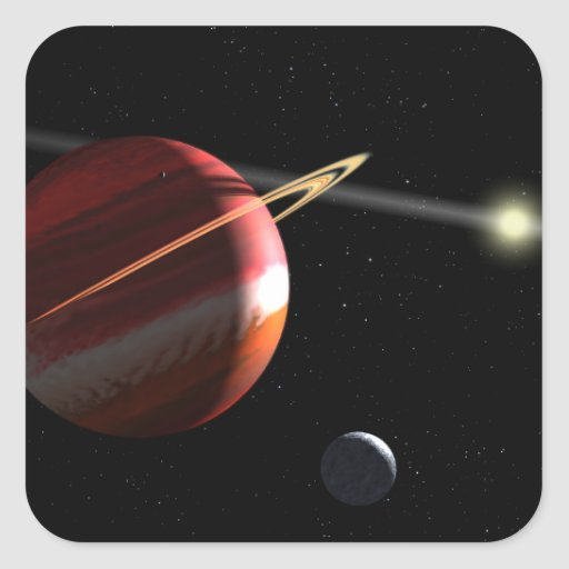 A Jupiter-mass planet orbiting the nearby star Square Sticker