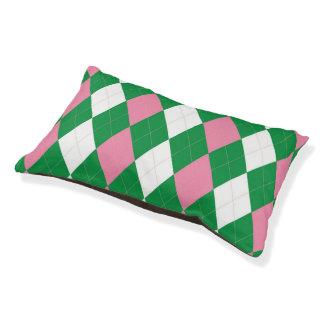 A.K.A durmiente rosado y verde del perrito de Cama Para Perro Pequeño