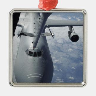A KC-10 Extender prepares to refuel a C-5 Galax Ornaments