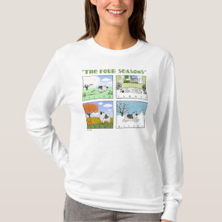 A Keeshond's Four Seasons T-Shirt
