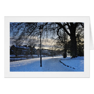 A kendal winter scene Christmas Card