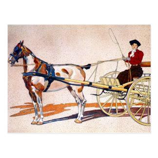 A Kentucky Breaking Cart Postcard