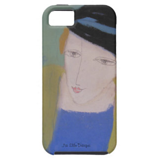 A kind, scholarly woman to cover your iPhone.