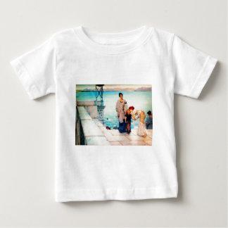 A Kiss by Sir Lawrence Alma Tadema Baby T-Shirt