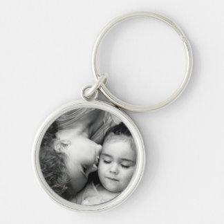 A Kiss For O Basic Premium Round Keychain