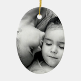 A Kiss For O Oval Ornament