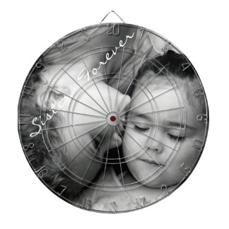 A Kiss For O/Sisters Forever Dartboard