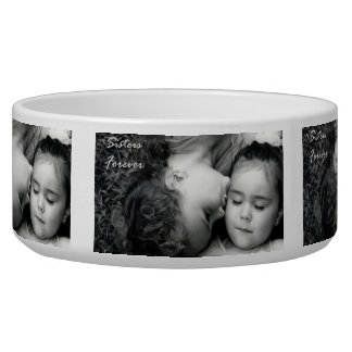 A Kiss For O/Sisters Forever Dog Bowl 2