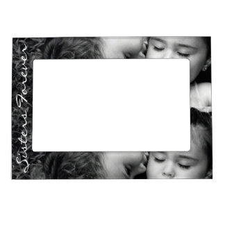 A Kiss For O/Sisters Forever Frame Magnet