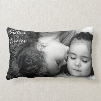 A Kiss For O/Sisters Forever Lumbar Pillow