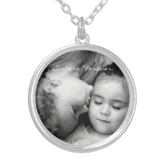 A Kiss For O/Sisters Forever Round Necklace