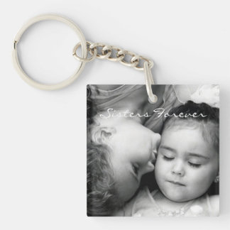 A Kiss For O/Sisters Forever Square Keychain (2sd)