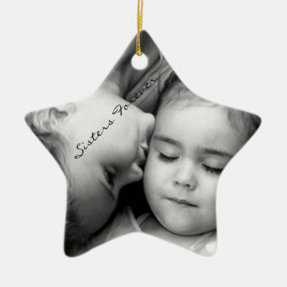 A Kiss For O/Sisters Forever Star Ornament