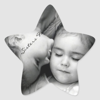 A Kiss For O/Sisters Forever Star Sticker