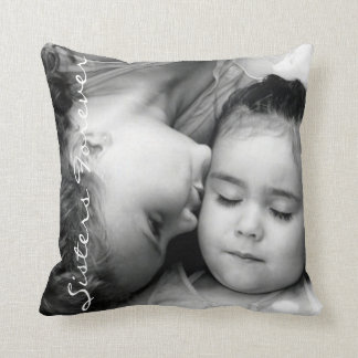 A Kiss For O/Sisters Forever Throw Pillow
