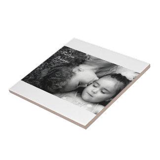 A Kiss For O/Sisters Forever Tile/Trivet Ceramic Tile