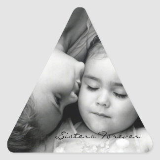 A Kiss For O/Sisters Forever Triangle Sticker
