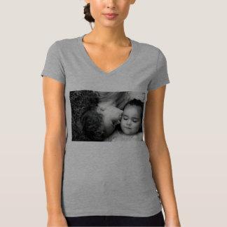 A Kiss For O Women's Jersey V-Neck T-Shirt