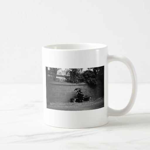 A Kiss in the Rain Coffee Mug