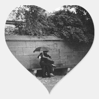 A Kiss in the Rain Sticker