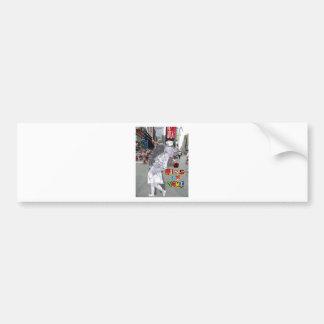 A Kiss in Time Car Bumper Sticker