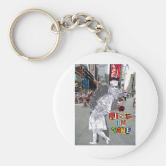 A Kiss in Time Keychain