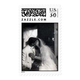A kiss on the day postage