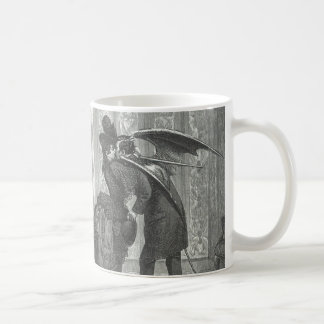 A Kiss Victorian/Gothic Winged Vampire Coffee Mug
