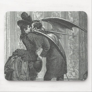 A Kiss Victorian/Gothic Winged Vampire Mouse Pad
