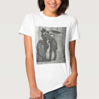 A Kiss Victorian/Gothic Winged Vampire T-Shirt