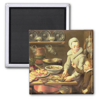 A Kitchen Interior Magnet