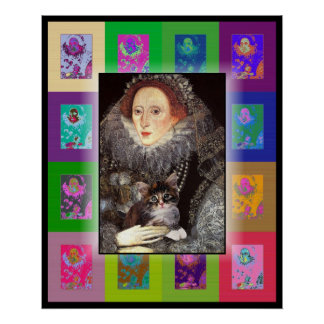 A kitten for Elizabeth I Poster