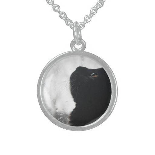 A Kitten's Wish - Elegant Cat Pendant Necklace
