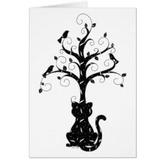 A Kitty's Imagination Card card