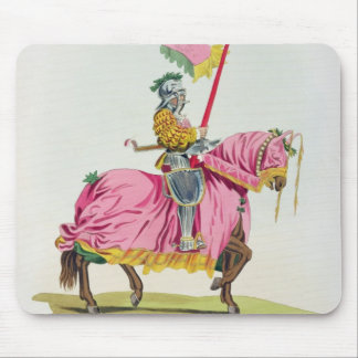 A Knight Armed for the Bond, 1512, engraved by W. Mouse Pad