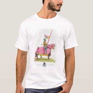 A Knight Armed for the Bond, 1512, engraved by W. T-Shirt