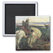 A Knight at the Crossroads Magnet